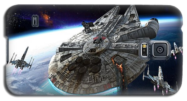 Space Ships Galaxy S5 Case - Afterburn by Kurt Miller