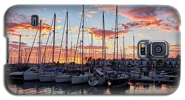 Afterglow In Puerto De Mogan Galaxy S5 Case