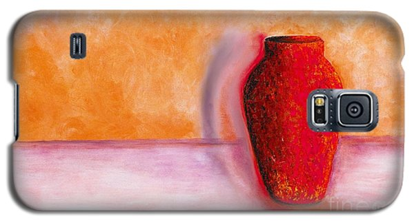 Galaxy S5 Case featuring the painting Afterglow by Marlene Book