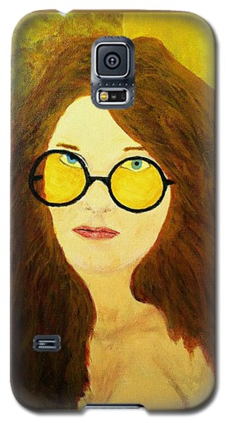 Afterlife Concerto Janis Joplin Galaxy S5 Case by Rand Swift