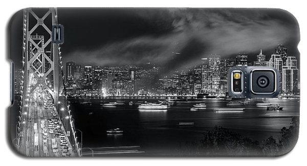 Galaxy S5 Case featuring the photograph Aftermath Over The City by Quality HDR Photography
