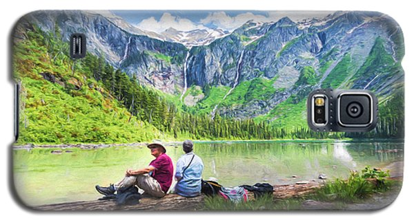 Afternoon At Avalanche Lake Galaxy S5 Case