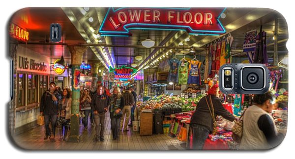 Afternoon At The Pike Street Market Seattle Washington Galaxy S5 Case