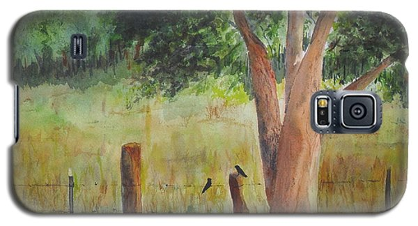 Galaxy S5 Case featuring the painting Afternoon Chat by Vicki  Housel