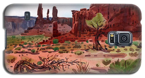 Afternoon In Monument Valley Galaxy S5 Case