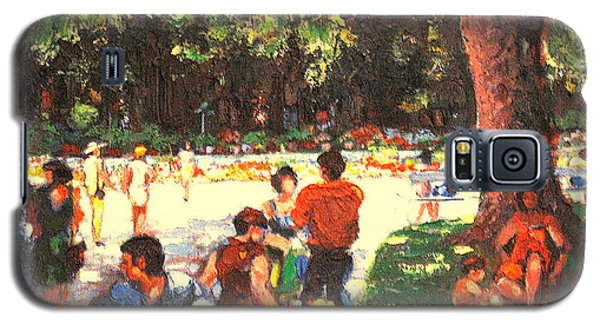 Afternoon In The Park Galaxy S5 Case