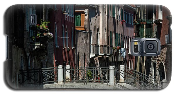 Galaxy S5 Case featuring the photograph Afternoon In Venice by Alex Lapidus