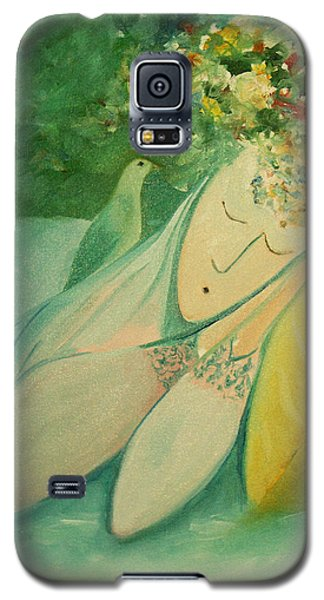 Afternoon Nap In The Garden Galaxy S5 Case