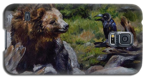 Afternoon Neigh-bear Galaxy S5 Case