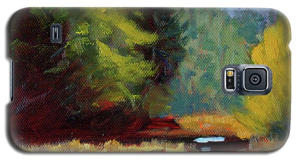 Afternoon On The River Galaxy S5 Case