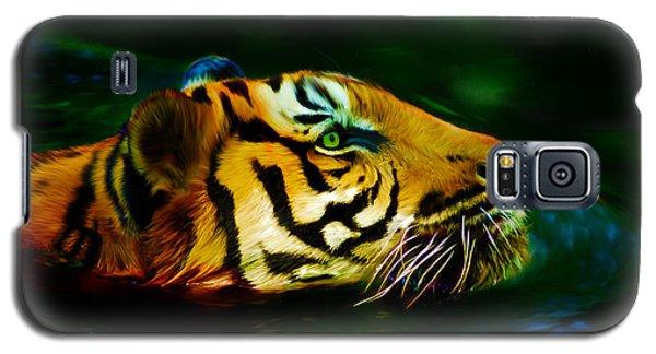 Afternoon Swim - Tiger Galaxy S5 Case