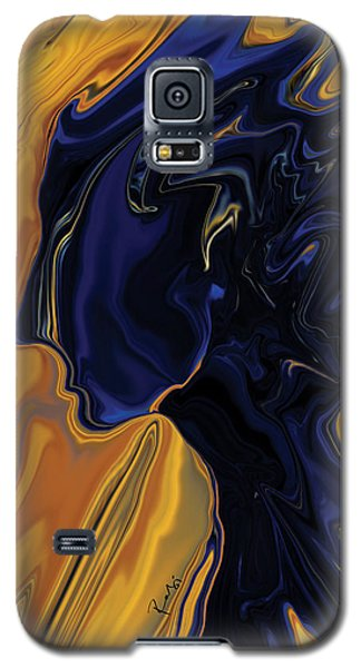 Galaxy S5 Case featuring the digital art Against The Wind by Rabi Khan
