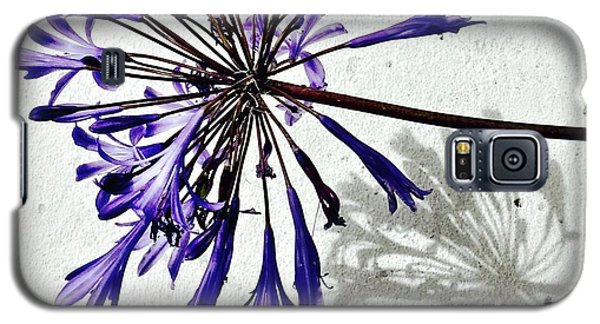 Galaxy S5 Case - Agapanthus by Julie Gebhardt
