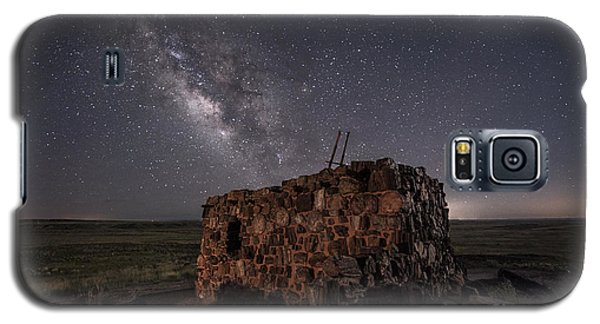 Galaxy S5 Case featuring the photograph Agate House At Night by Melany Sarafis