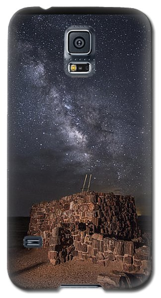 Agate House At Night2 Galaxy S5 Case