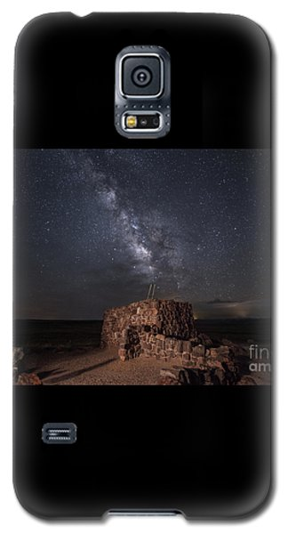 Galaxy S5 Case featuring the photograph Agate House At Night2 by Melany Sarafis