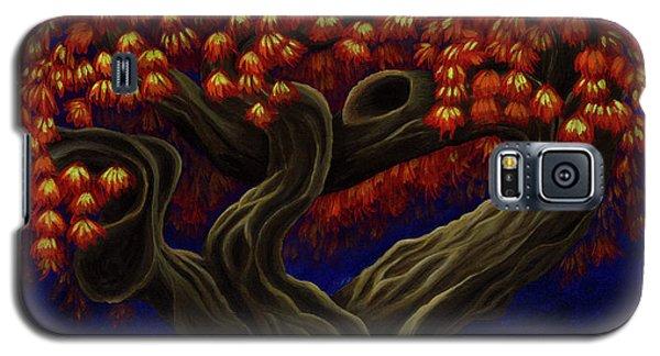 Aged Autumn Galaxy S5 Case