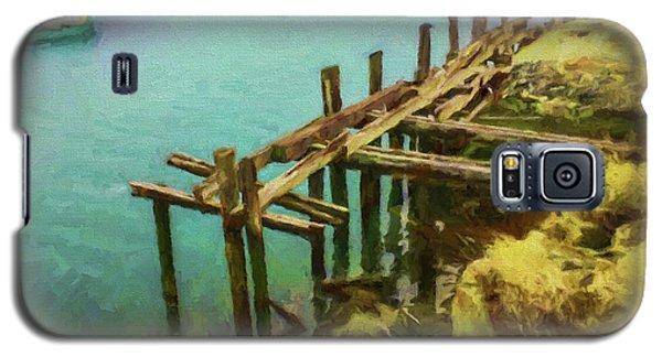 Aged Docks From Winthrop Galaxy S5 Case