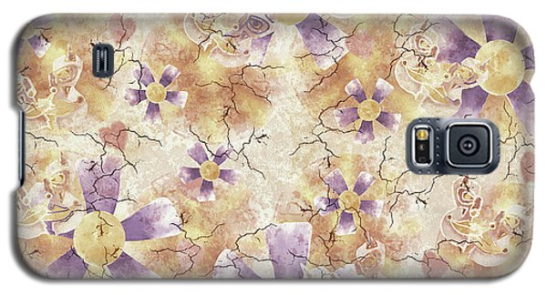 Aged Flower Clown Pattern Galaxy S5 Case