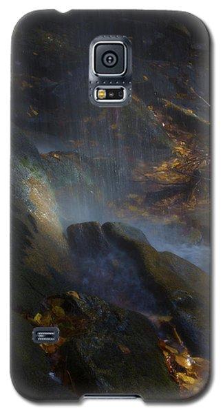 Galaxy S5 Case featuring the photograph Aglow by Ellen Heaverlo