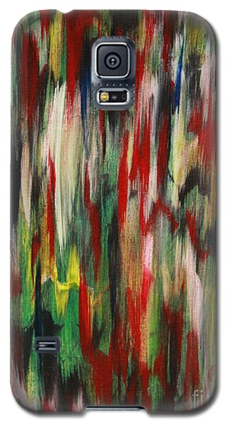 Galaxy S5 Case featuring the painting Agony by Jacqueline Athmann