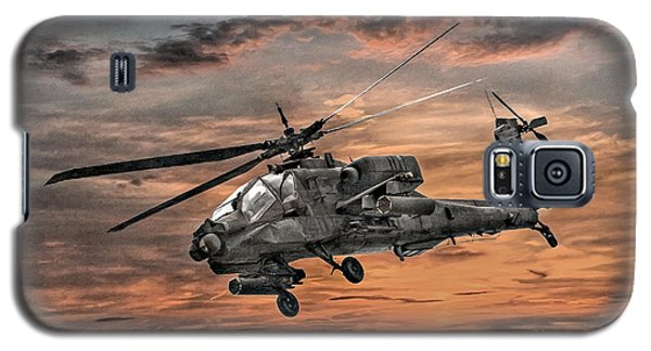 Ah-64 Apache Attack Helicopter Galaxy S5 Case