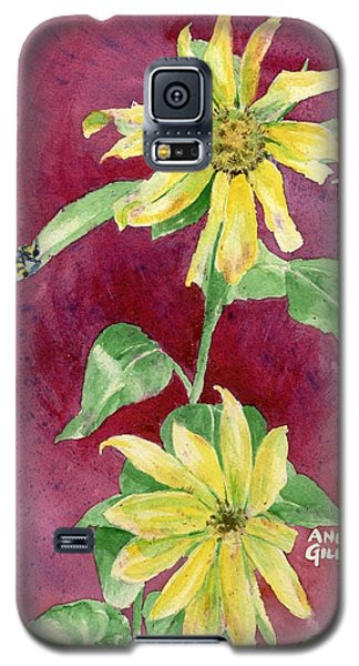 Ah Sunflowers Galaxy S5 Case