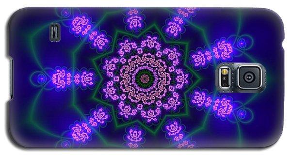 Galaxy S5 Case featuring the digital art Ahau 9.1 by Robert Thalmeier