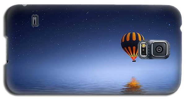 Galaxy S5 Case featuring the photograph Air Ballon by Bess Hamiti