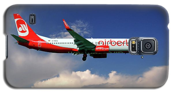 Berlin Galaxy S5 Case - Air Berlin Boeing 737-800 by Smart Aviation