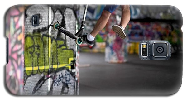 Airborne At Southbank Galaxy S5 Case by Rona Black