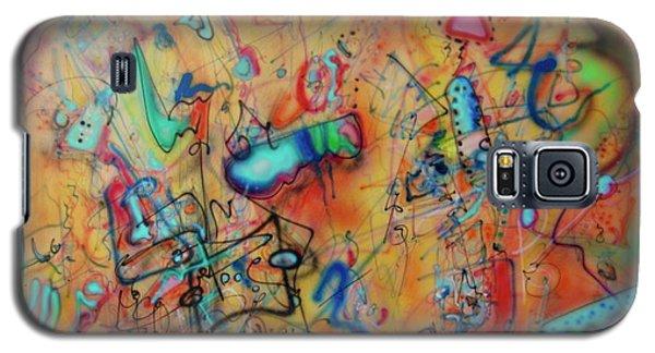 Digital Landscape, Airbrush 1 Galaxy S5 Case
