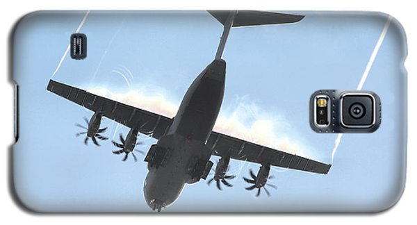 Galaxy S5 Case featuring the photograph Airbus A400m by Tim Beach
