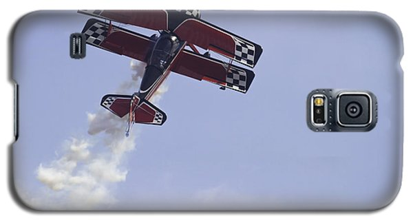 Airplane Performing Stunts At Airshow Photo Poster Print Galaxy S5 Case by Keith Webber Jr