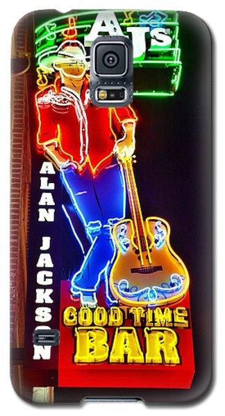 Aj's Good Time Bar Galaxy S5 Case