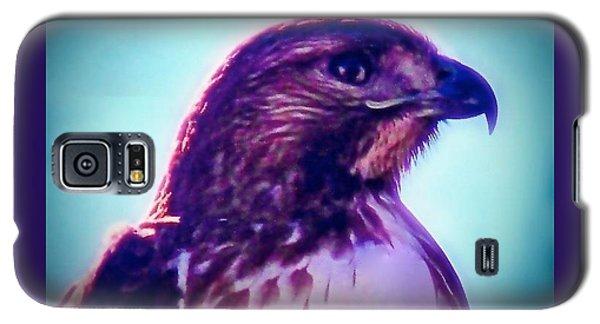 Ak-chin Red-tailed Hawk Portrait Galaxy S5 Case
