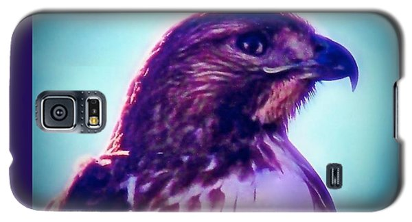 Ak-chin Red-tailed Hawk Portrait Galaxy S5 Case