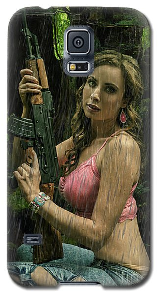 Ak47 In The Rain Galaxy S5 Case