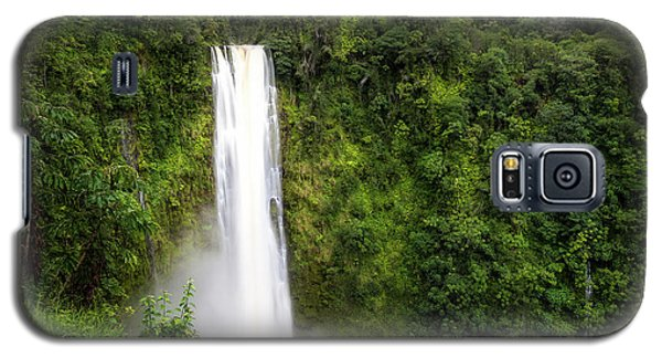 Galaxy S5 Case featuring the photograph Akaka Falls by Ryan Manuel