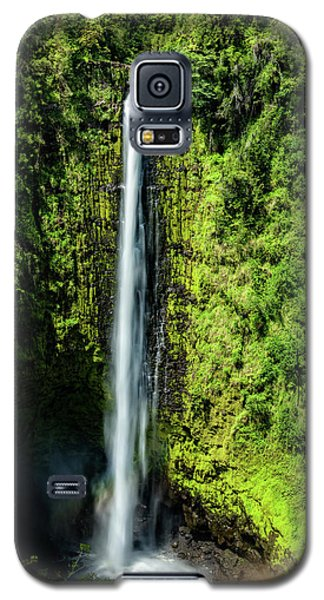 Akaka Falls With Rainbow Galaxy S5 Case