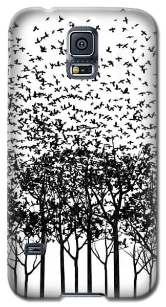 Aki Monochrome Galaxy S5 Case by Cynthia Decker
