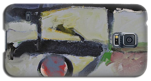 Galaxy S5 Case featuring the painting Akira by Cliff Spohn