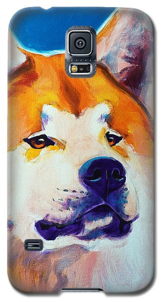 Akita - Apricot Galaxy S5 Case