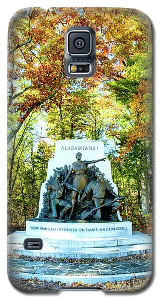 Alabama Monument At Gettysburg Galaxy S5 Case