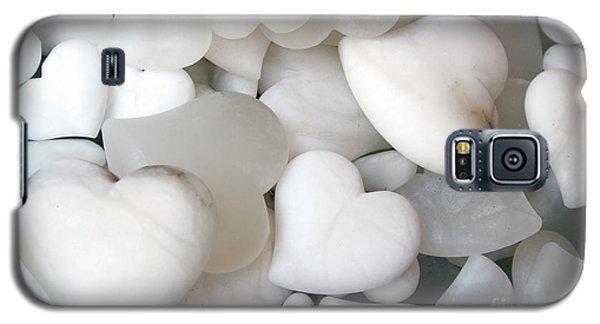 Alabaster Hearts Galaxy S5 Case