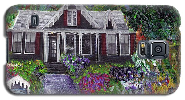 Alameda 1854 Gothic Revival - The Webster House Galaxy S5 Case by Linda Weinstock