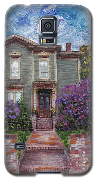 Galaxy S5 Case featuring the painting Alameda 1888 - Italianate by Linda Weinstock