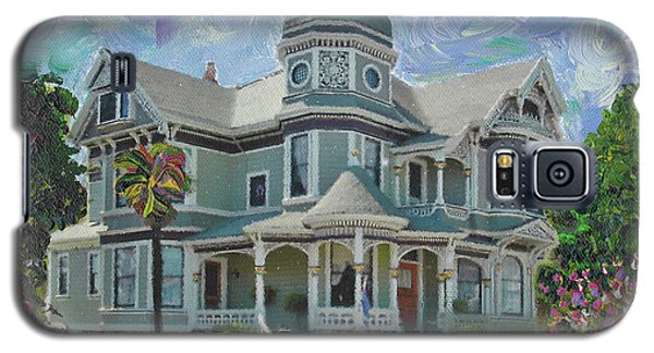 Alameda 1893  Queen Anne  Galaxy S5 Case by Linda Weinstock