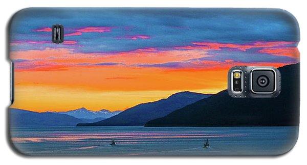 Alaska Fishermans Sunset Galaxy S5 Case