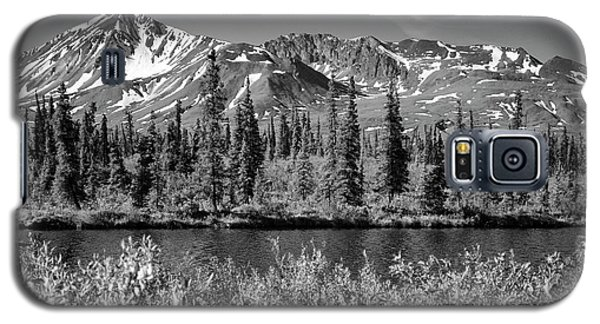 Galaxy S5 Case featuring the photograph Alaska Mountains by Zawhaus Photography